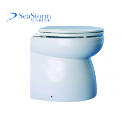 12V Luxury Marine Hydrovacuum Toilet - Ocean Technologies