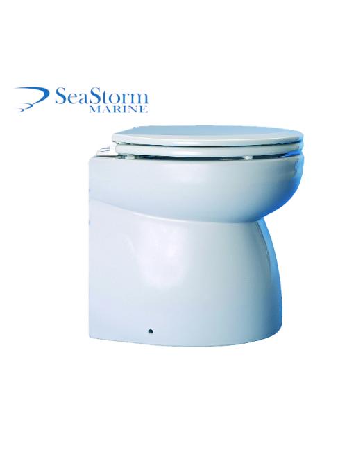 12V Deluxe Bidet Marine Hydrovacuum Toilet - Ocean Technologies