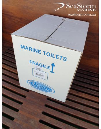24V Luxury Marine Hydrovacuum Toilet - Ocean Technologies