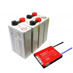 12 V, 100 Ah Lithium Battery Pack & BMS, Small Safe Powerful Reliable